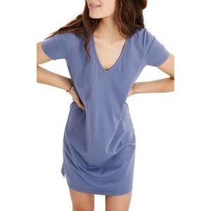 Madewell Northside V-neck T-shirt Dress XS